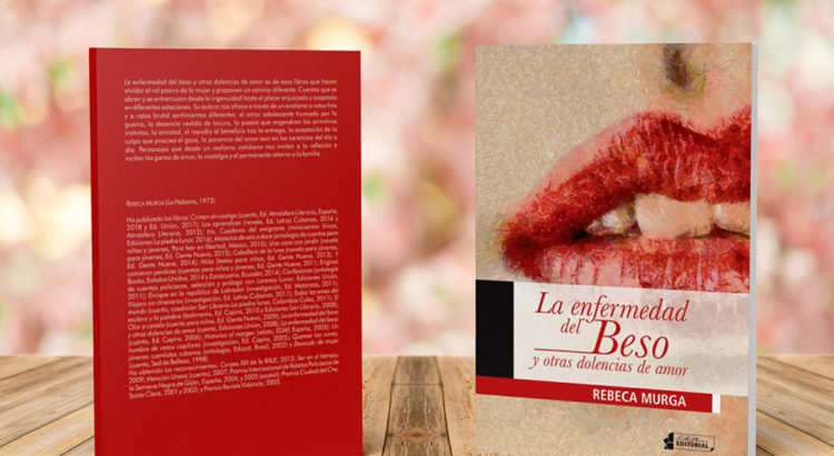 La enfermedad del beso, un libro de amor